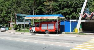 С Ангарского перевала (на трассе «Симферополь – Ялта») убрали пожарно-спасательный пост