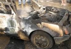 Ночной автопожар в Симферополе