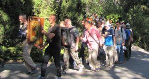 В Крыму стартовал крестный ход, приуроченный к 100-летию памяти царственных страстотерпцев