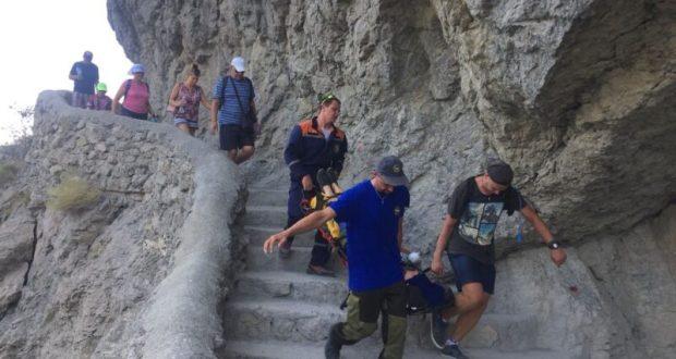 Прогулки в горах Крыма не всегда безопасны. «КРЫМ-СПАС» о происшествиях воскресенья