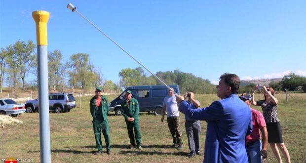 В крымское село Трудолюбово наладили подачу природного газа
