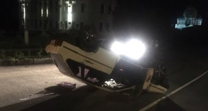 ДТП в Бахчисарае. ВАЗ-«перевертыш»