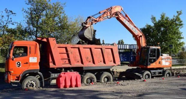 В Симферополе стартовал капитальный ремонт улицы Маршала Жукова