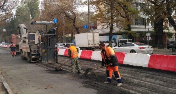 Как идет ремонт дорог в Симферополе