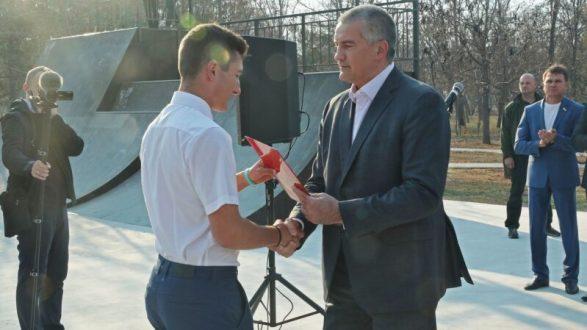 Сергей Аксёнов посетил город Армянск