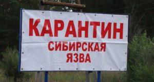 Роспотребнадзор предупредил о выявлении случая сибирской язвы на Украине