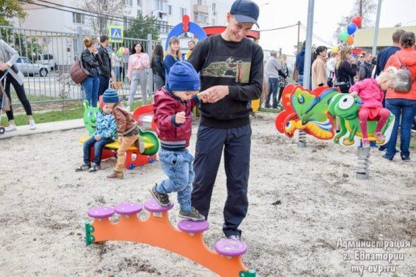 """В Евпатории презентовали новый детский сад """"Солнышко"""""""