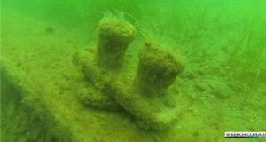 У берегов Керчи обнаружили обломки катерного тральщика времён ВОВ