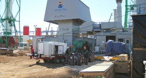 Строительство Сакской теплоэлектроцентрали (ТЭЦ) ведется с небольшим отставанием – недели на три