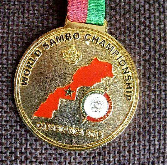 Севастополец Леонид Рубель - чемпион мира по самбо среди мастеров-ветеранов