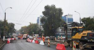 В Симферополе обещают завершить досрочно капремонт улицы Севастопольской