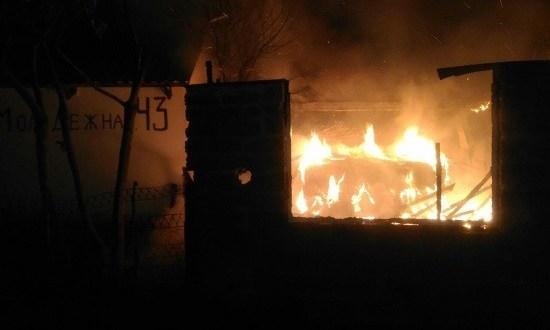 Пожар в курортном поселке Солнечногорское мог обернуться большой бедой