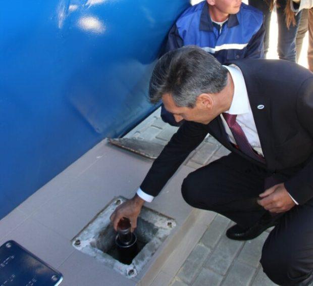 В Феодосии открыли памятник корабелам