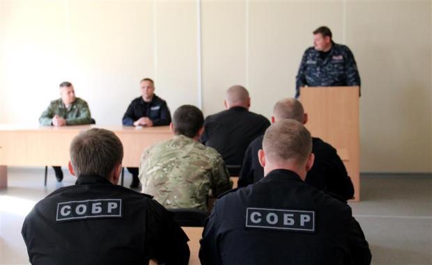 """В ЮФО отмечают юбилей образования спецотрядов быстрого реагирования. В Севастополе это - """"Сокол"""""""