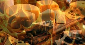 В Ялте сожгли 45 кг импортного сыра. Контрсанкции, однако