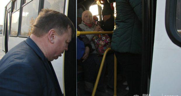 Как Симферопольские чиновники с утра добирались на работу в общественном транспорте