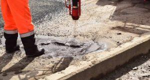 В Симферополе дорожный ремонт продолжат, но с учётом погодных условий
