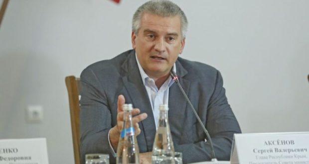 Аксёнов пригрозил дорожникам и перевозчикам, работающим в Симферополе: попадете в «черный список»