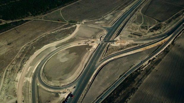 Завершается строительство транспортной развязки трассы «Таврида» у въезда в Белогорск