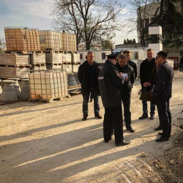 В Севастополе остановлена реконструкция Матросского бульвара