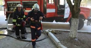 На пожаре в Севастополе спасен человек: мужчина едва не задохнулся в дыму