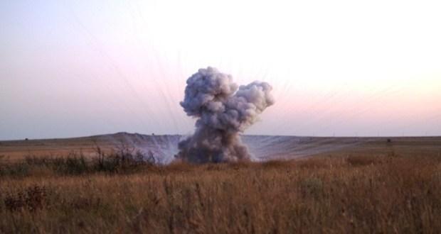 Под Керчью нашли и уничтожили авиабомбу