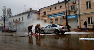 Автопожары в Крыму: машины пылают на стоянках и загораются на ходу