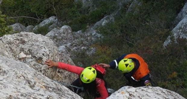 В Крыму почти сутки искали потерявшуюся в горах туристку