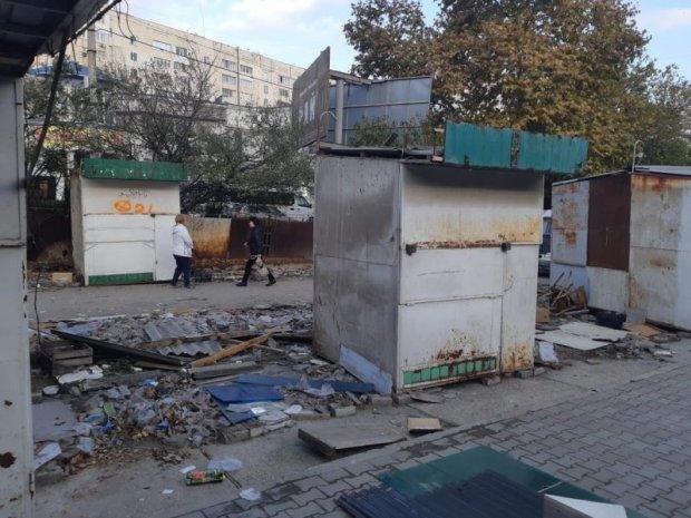 Большая зачистка: Сталинградский рынок пошёл под снос