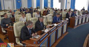 Заксобрание Севастополя приготовилось критиковать правительство губернатора Овсянникова