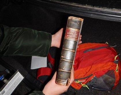 Украинец пытался незаконно ввезти в Крым книгу 1810 года издания