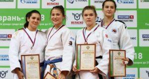 Анастасия Захарова из Феодосии - серебряный призёр первенства России по дзюдо