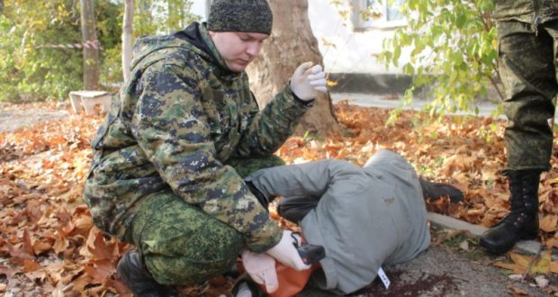 В Севастополе прошли масштабные учения следователей и экспертов-криминалистов
