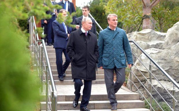 Южнобережный курортный комплекс «Мрия» пришелся по душе Президенту