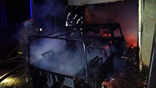 Пожары в Крыму: горят частные подворья