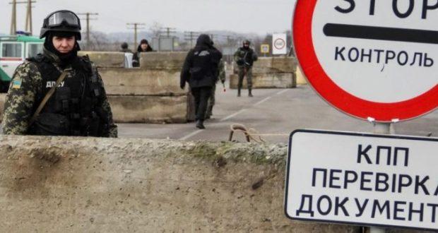 В украинских пунктах пропуска на границе с Крымом - полная боевая готовность