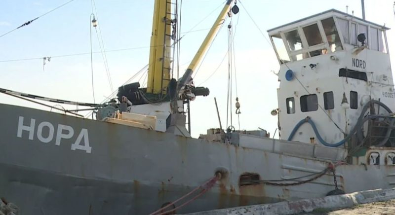 На Украине снова не смогли продать украденный у крымчан сейнер «Норд»
