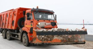 «Крымавтодор» со снегом справился. Расчищено 1 800 км дорог