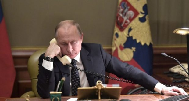 Владимир Путин поговорил по телефону с Ангелой Меркель и рассказал ей правду о Керченском проливе
