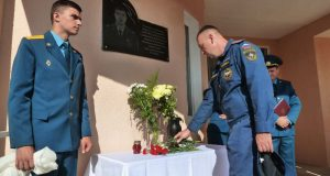 Суворовская школа Сакского района будет носить имя героя-пожарного Давида Саруханова