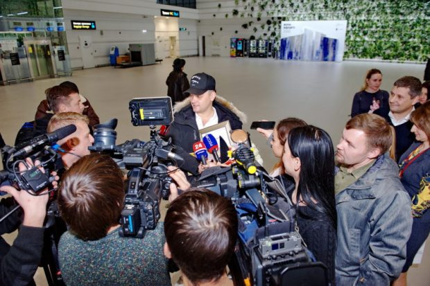"""Аэропорт """"Симферополь"""" встретил пятимиллионного пассажира"""