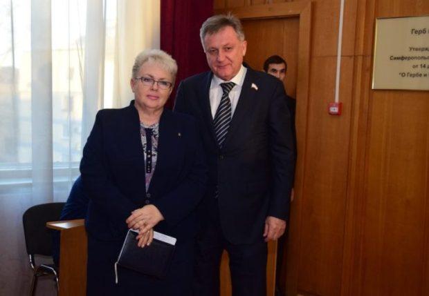 Наталья Маленко - глава администрации Симферополя