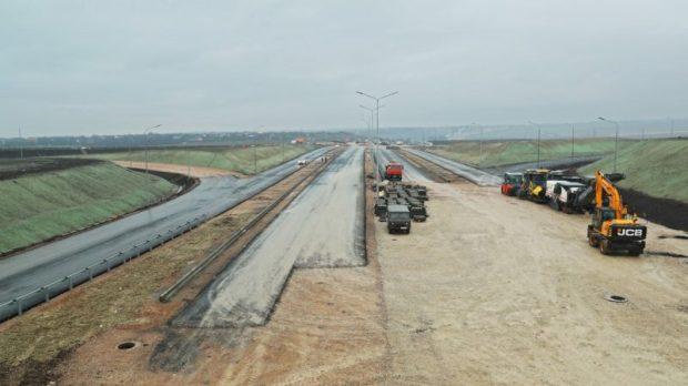 В Крыму поэтапно открывают трассу «Таврида». Сегодня открыли участок «Симферополь – Белогорск»