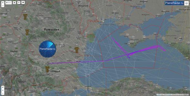 Активность авиации США у берегов Крыма значительно выросла
