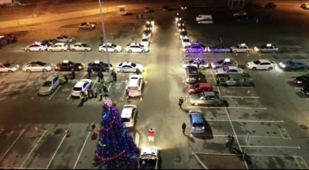 В Крыму Дед Мороз призывает провести Новый год без ДТП