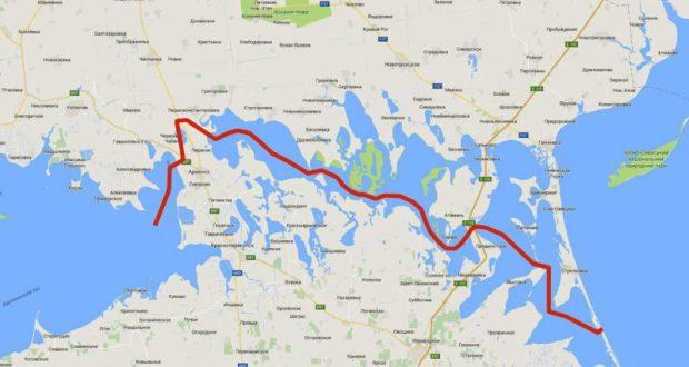 На Украине вернулись к идее, прорыть канал между Черным и Азовским морями. Не фейк