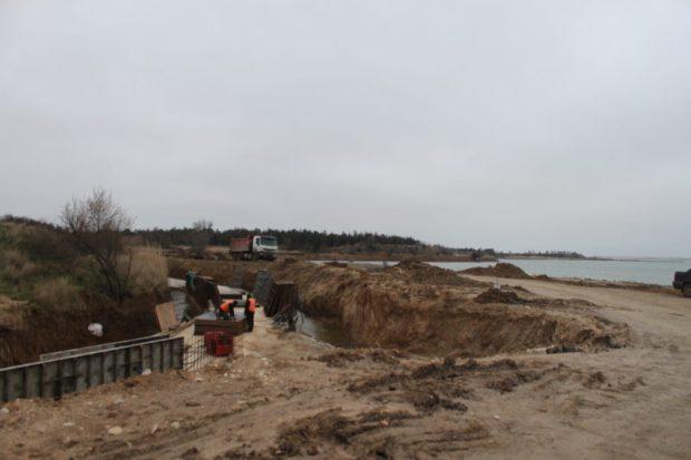 Ситуация по строительству объектов ФЦП в городе Саки начинает выравниваться