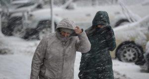 Южный циклон пришёл в Крым. Принёс дожди и снег