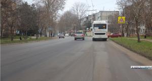 В Керчи завершен ремонт улицы Горького