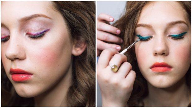 Модный макияж весна-лето 2019 года: яркая помада, стрелки и сияющая кожа